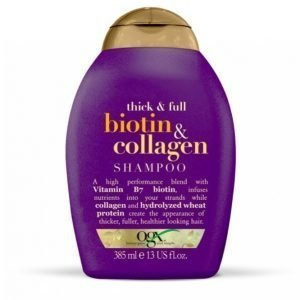 Ogx Biotin / Collagen Shampoo 385 Ml