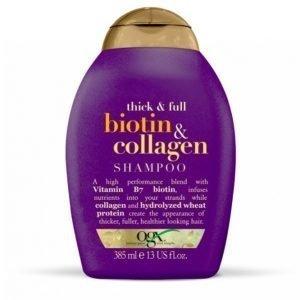 Ogx Biotin / Collagen Shampoo 385 Ml
