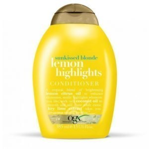 Ogx Lemon Highlights Conditioner 385 Ml Hoitoaine