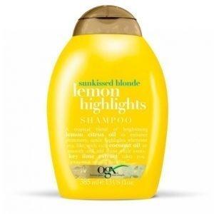 Ogx Lemon Highlights Shampoo