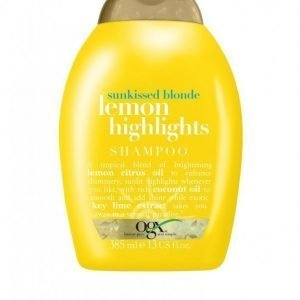 Ogx Lemon Highlights Shampoo 385 Ml