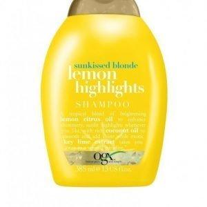 Ogx Lemon Highlights Shampoo 385 Ml