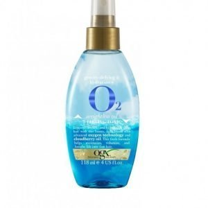 Ogx O2 Weightless Oil + Lifting Tonic 118 Ml Hiusöljy