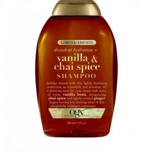 Ogx Vanilla & Chai Spice Shampoo 385 Ml