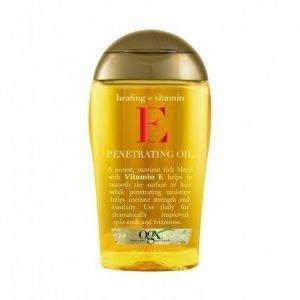 Ogx Vitamin E Penetrating Oil 100 Ml Hiusöljy