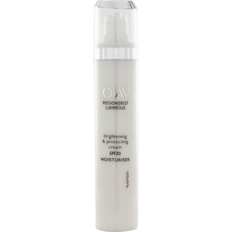 Olay Regenerist Luminous Brightening & Protecting Cream SPF20 50ml
