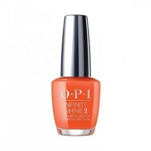 Opi Infinite Shine California Dreaming Kynsilakka Santa Monica Beach Peach