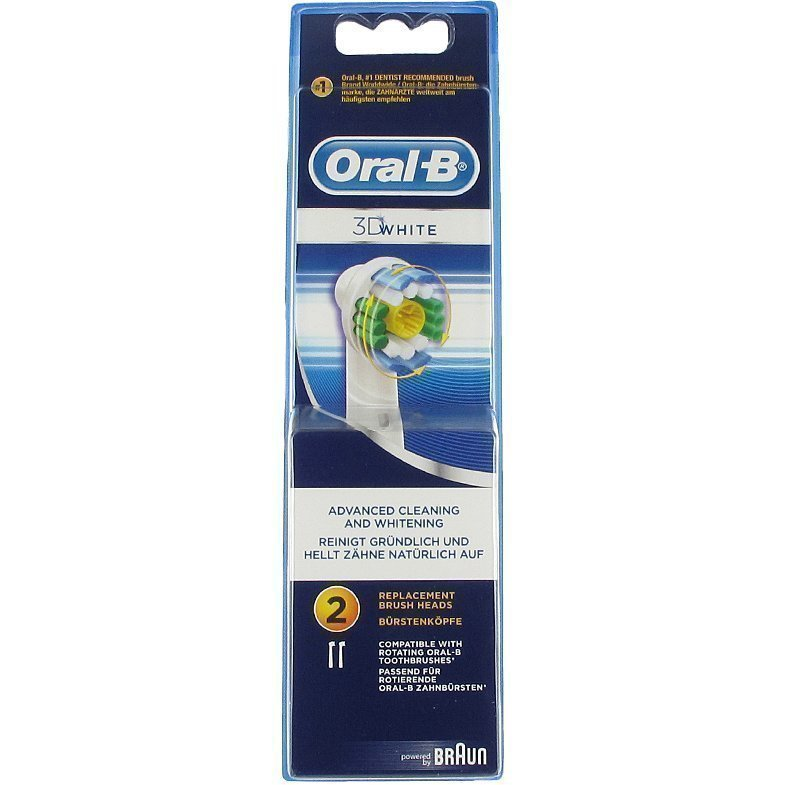 Oral-B 3D White 2 Brush Heads