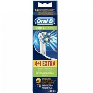 Oral B Crossaction Vaihtoharjat 4 + 1