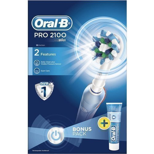 Oral-B Electric Toothbrush PRO2100 Giftbox