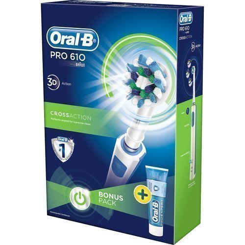 Oral-B Electric Toothbrush PRO610 Giftbox