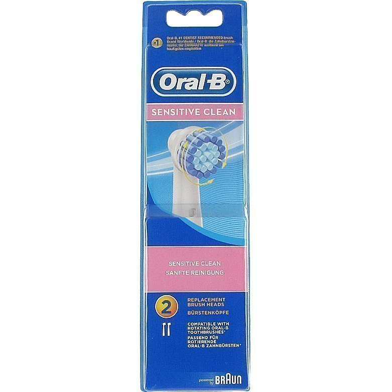 Oral-B Sensitive Clean 2 Brush Heads