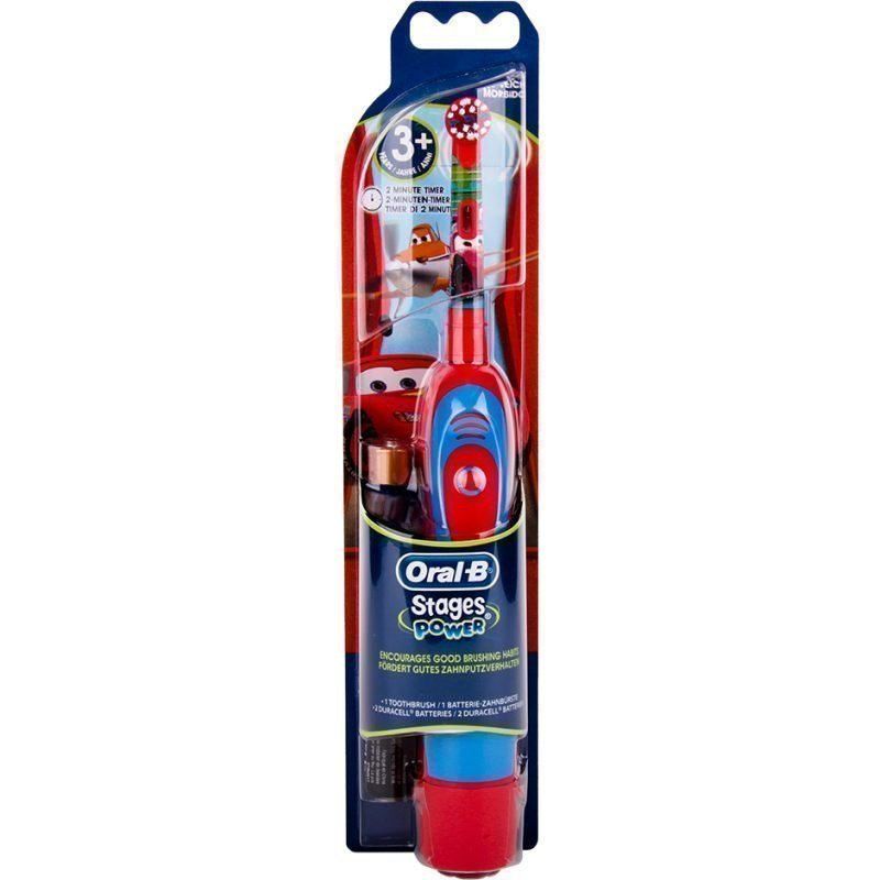 Oral-B Stages Power Cars Electric Toothbrush With Magic Timer App