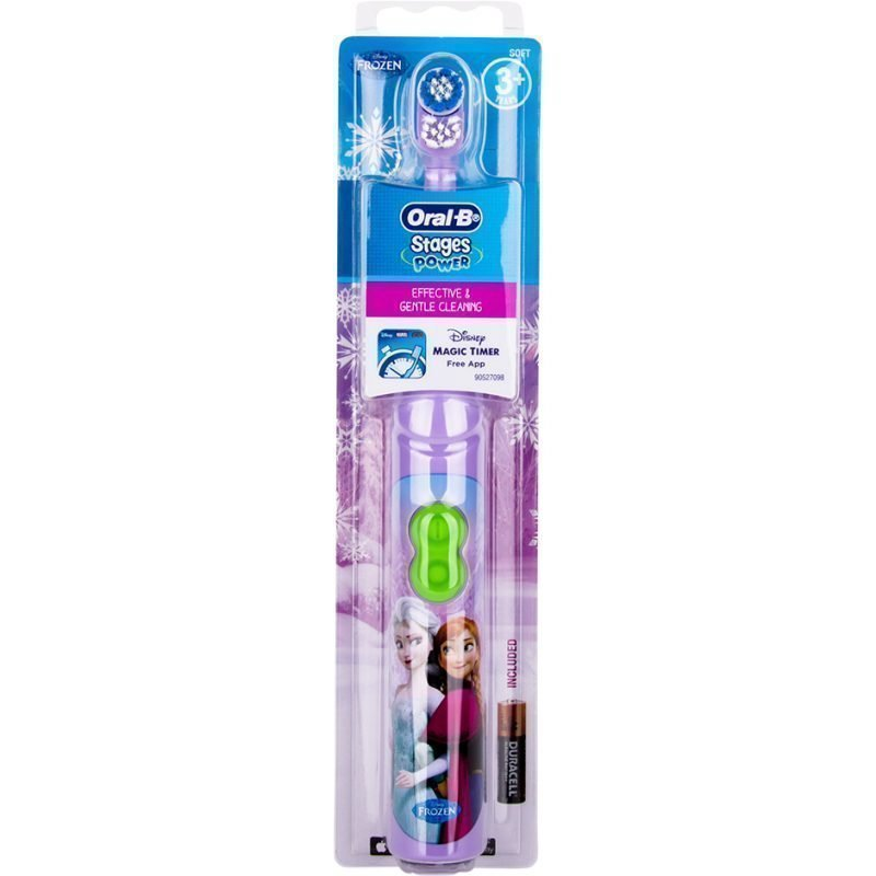 Oral-B Stages Power Frozen Electric Toothbrush With Magic Timer App