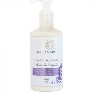 Organic Surge Lavender Meadow Hand And Body Lotion 250 Ml