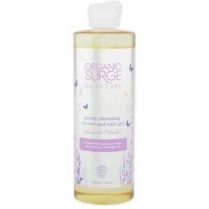 Organic Surge Lavender Meadow Shower & Bath Gel 500 Ml