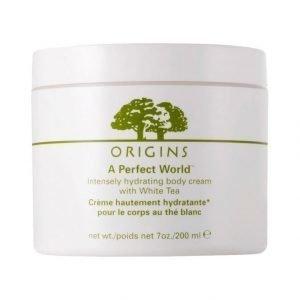 Origins A Perfect World Intensly Hydrating Body Cream With White Tea Vartalovoide 200 ml