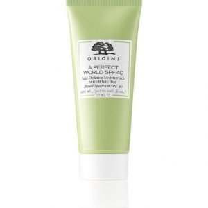 Origins A Perfect World Spf 40 Age Defense Moisturizer With White Tea Kosteusvoide 50 ml