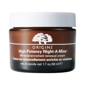 Origins High Potency Night A Mins Mineral Enriched Renewal Cream Voide 50 ml