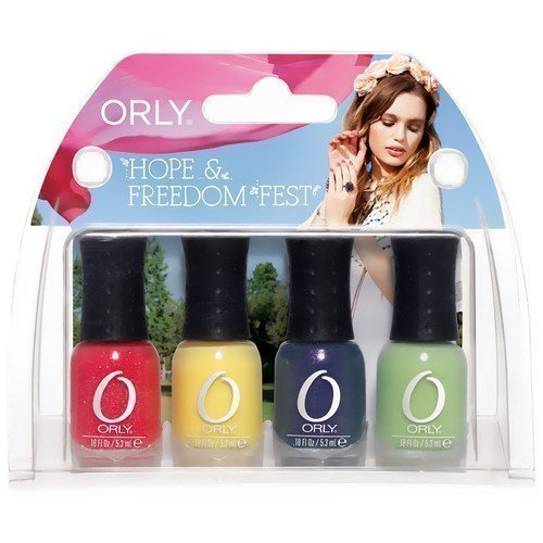 Orly Nail Lacquer Hope & Freedom Fest Mini Kit