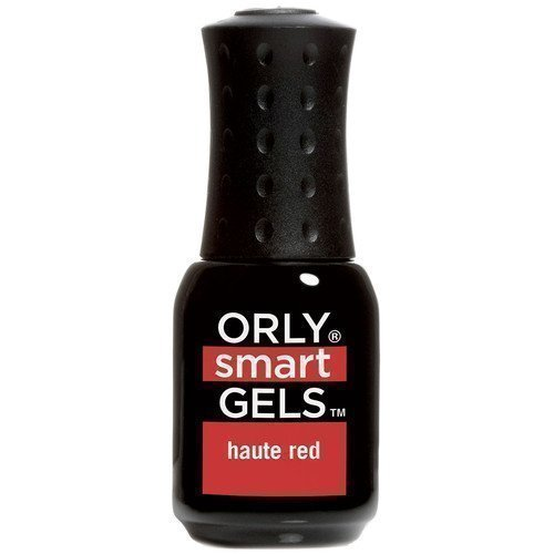 Orly Nail Lacquer Smart Gels Haute Red