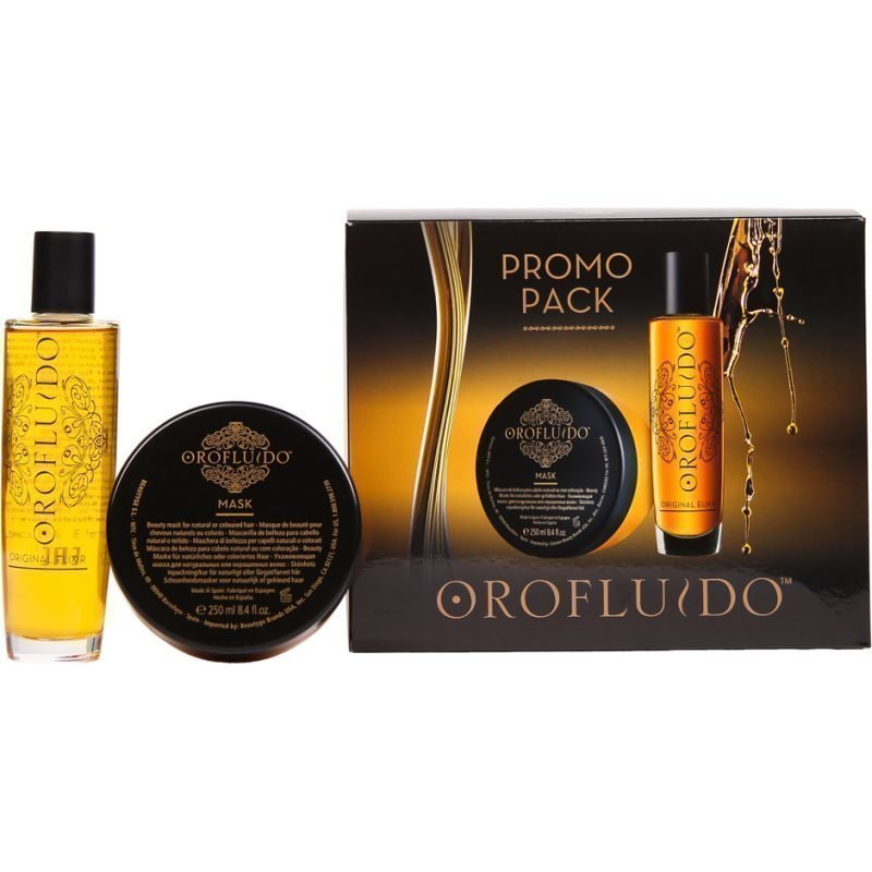 Orofluido Promo Pack Orofluido Beauty Elixir 100ml & Mask 250ml