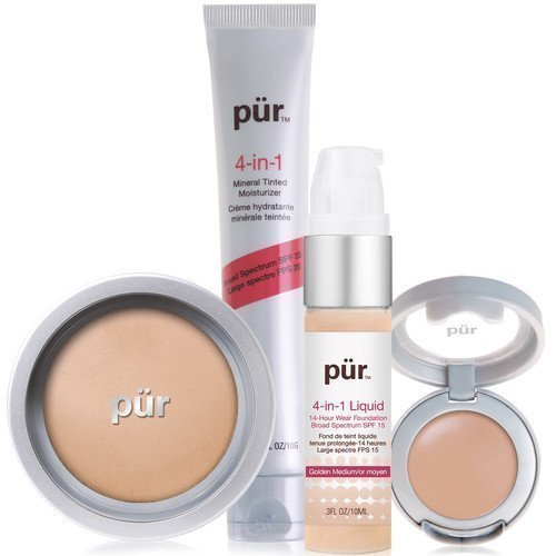 PÜR 4-in-1 Complexion Kit Dark