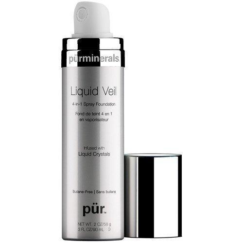 PÜR Liquid Veil 4-in-1 Spray Foundation Tan