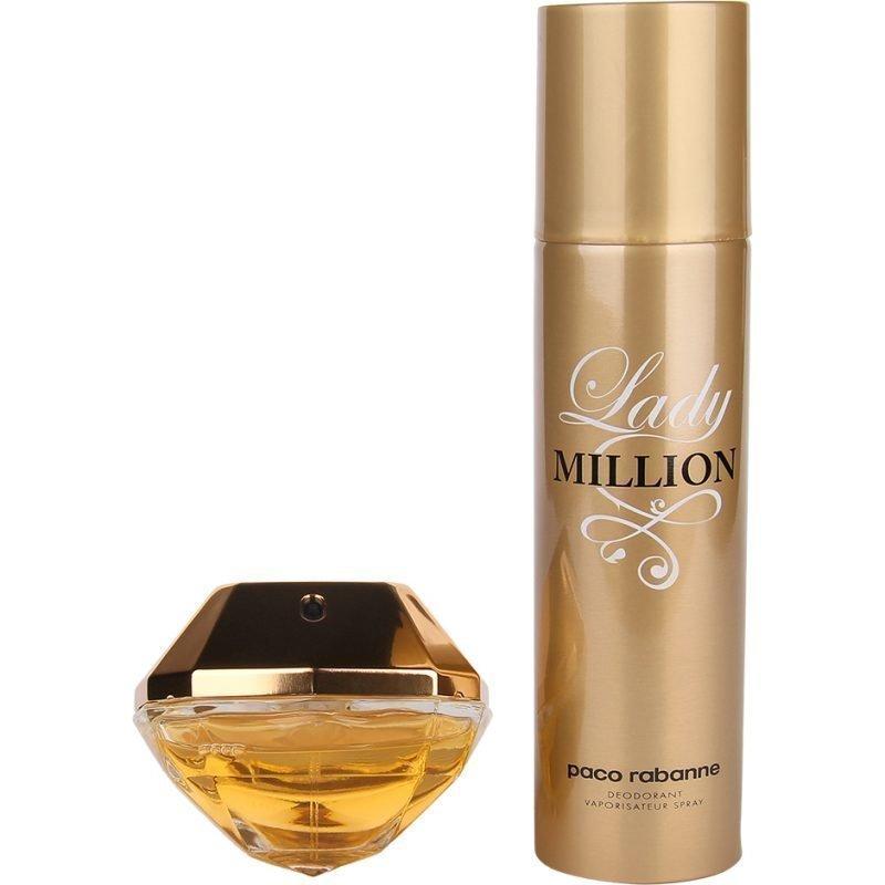 Paco Rabanne Lady Million Duo EdP 50ml Deodorant Spray 150ml