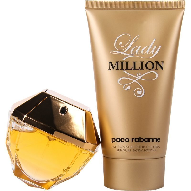 Paco Rabanne Lady Million Duo EdP 80ml Body Lotion 150ml