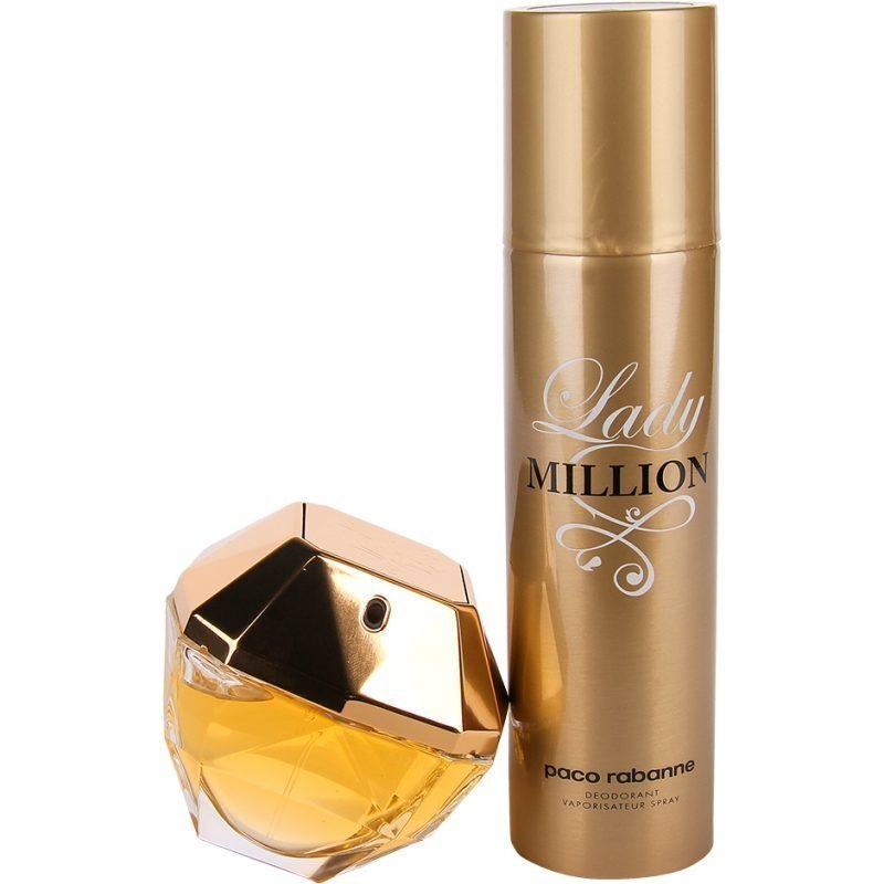 Paco Rabanne Lady Million Duo EdP 80ml Deodorant Spray 150ml