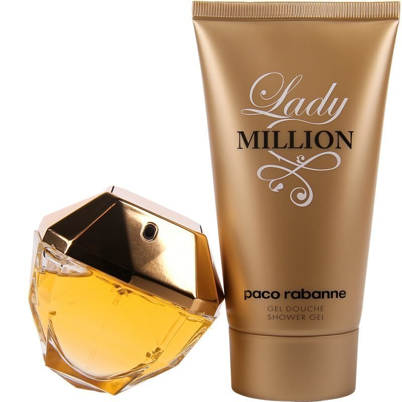 Paco Rabanne Lady Million Duo EdP 80ml Shower Gel 150ml