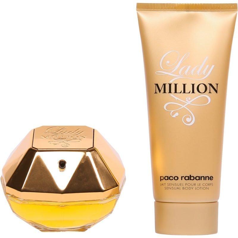 Paco Rabanne Lady Million EdP 50ml Body Lotion 100ml