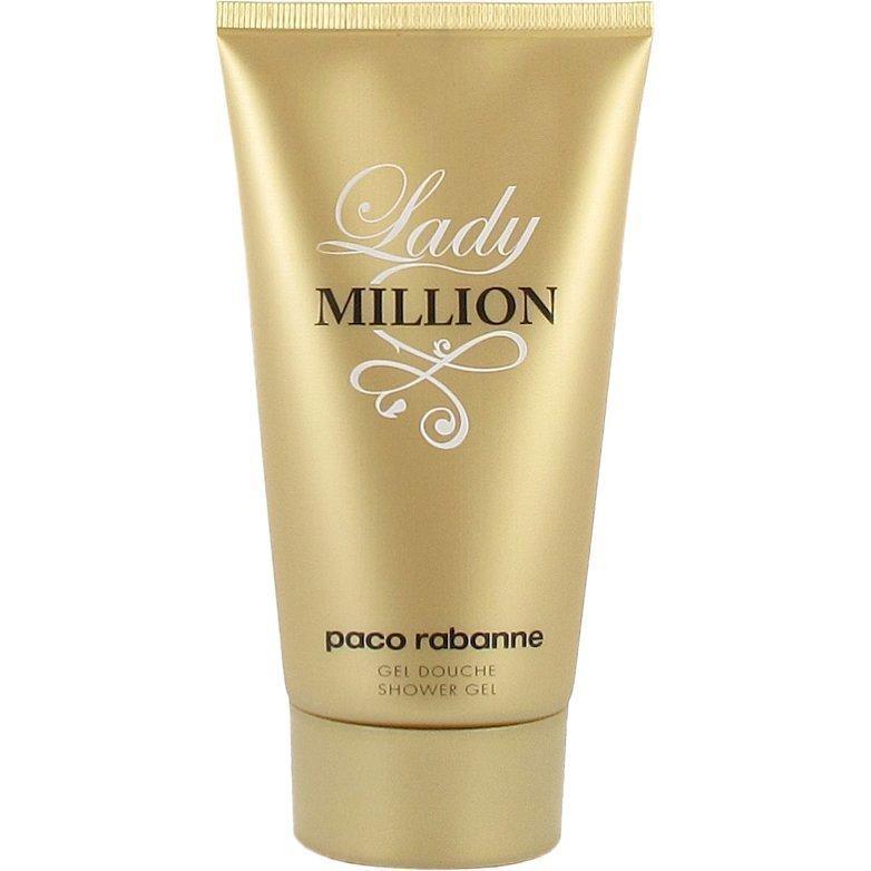 Paco Rabanne Lady Million Shower Gel Shower Gel 150ml