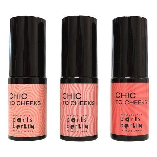 Paris Berlin Chic To Cheek Jelly Blush Poppy-rose matte