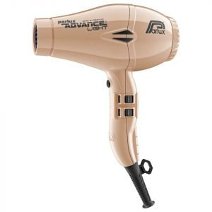 Parlux Advance Light Ceramic Ionic Hair Dryer Light Gold