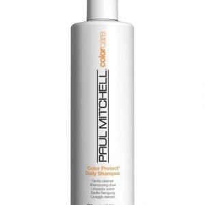 Paul Mitchell Color Protect Daily Shampoo Värjätyille Hiuksille 500 ml