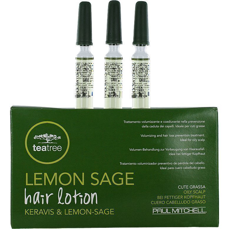 Paul Mitchell Tea Tree Lemon Sage Hair Lotion 12x6ml