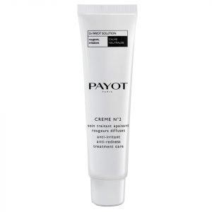 Payot Crème N°2 Anti-Irritant Anti-Redness Treatment Care 30 Ml