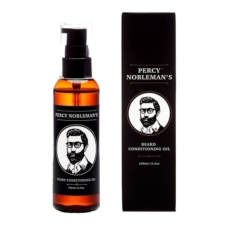 Percy Nobleman Beard Conditioning Oil - Unscented