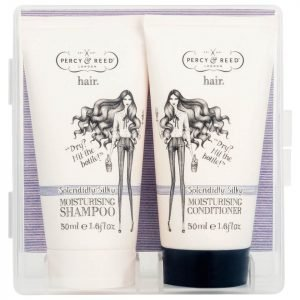 Percy & Reed To Go! Splendidly Silky Moisture Shampoo And Conditioner Duo 2 X 50 Ml
