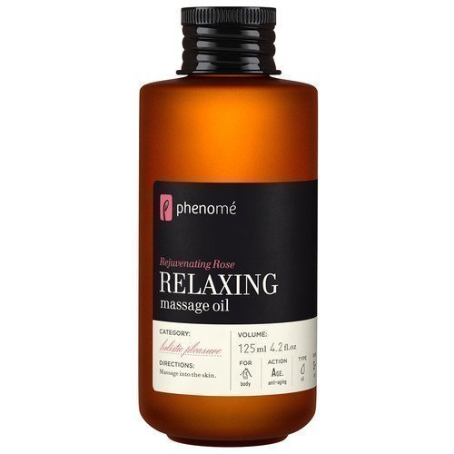 Phenomé Rejuvenating Rose Relaxing Massage Oil