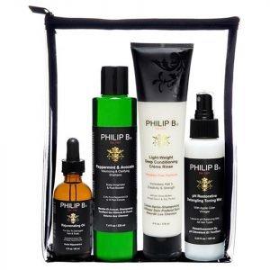 Philip B Four Step Hair And Scalp Treatment Set