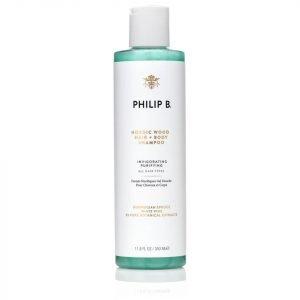 Philip B Nordic Wood Hair And Body Shampoo 350 Ml