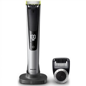Philips Qp6520 / 25 Oneblade Pro Hybrid Trimmer And Shaver With 14-Length Comb