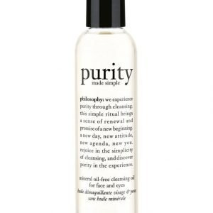 Philosophy Purity Made Simple Mineral Oil Free Puhdistusöljy 180 ml