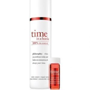 Philosophy Time In A Bottle Seerumi 40 ml + 2