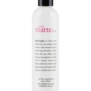 Philosophy Total Matteness Oil Free Mattifying Pore Refiner Hoitovesi 240 ml
