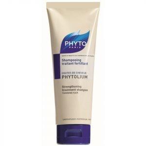 Phyto Phytolium Strengthening Treatment Shampoo For Thinning Hair 125 Ml