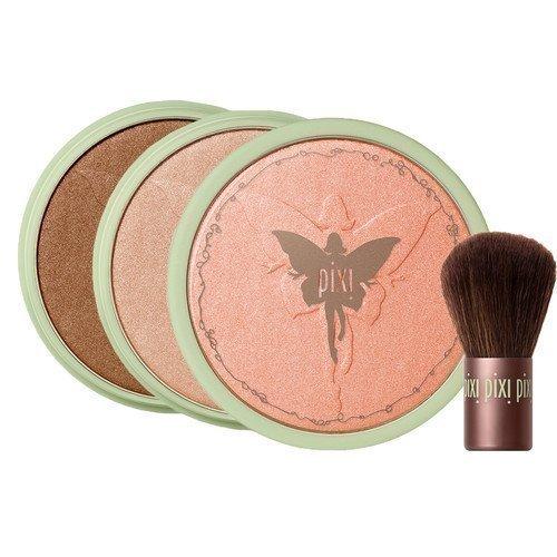 Pixi Beauty Bronzer + Kabuki Brush Summertime
